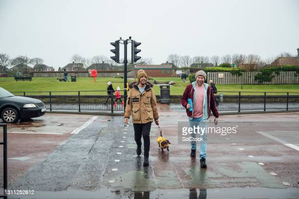 staying active together - crossing stock pictures, royalty-free photos & images