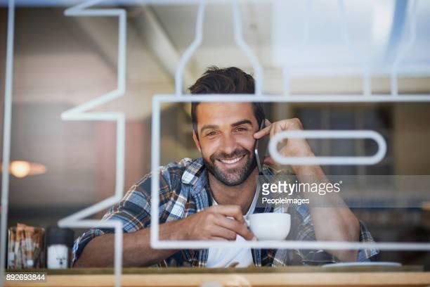 Mantenerse conectado durante su descanso de café