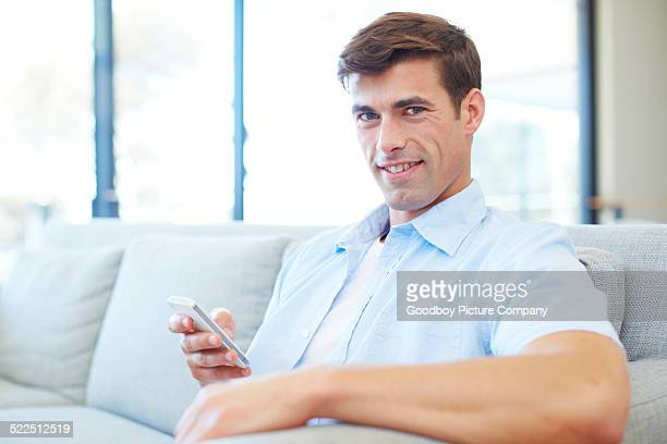 staying connected is just so easy - short sleeved stock photos and pictures