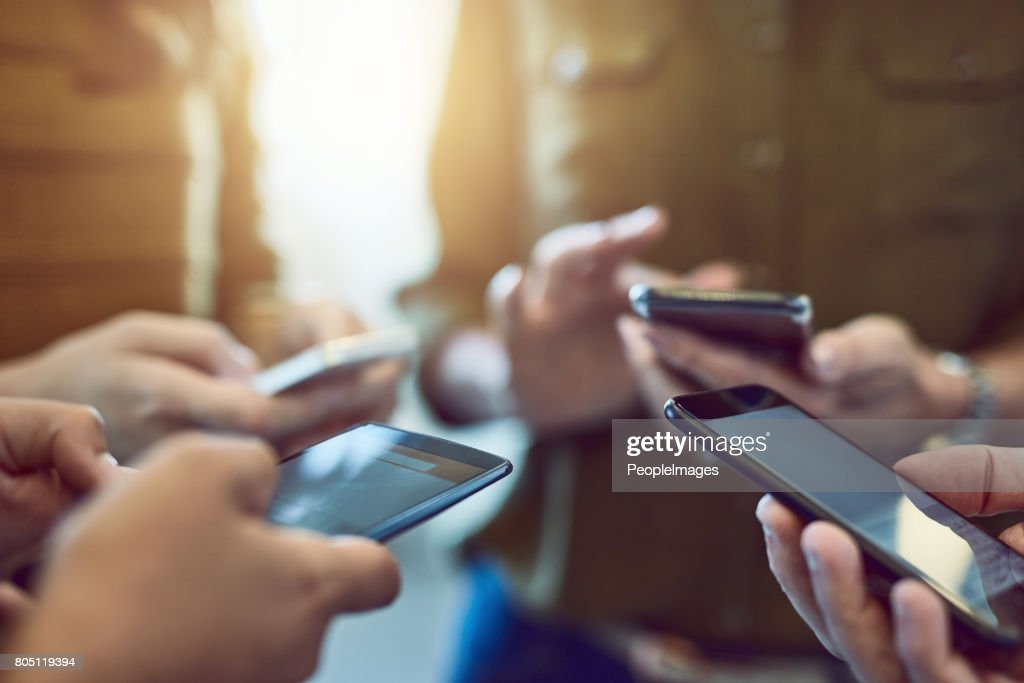 Staying connected = staying current : Stock Photo