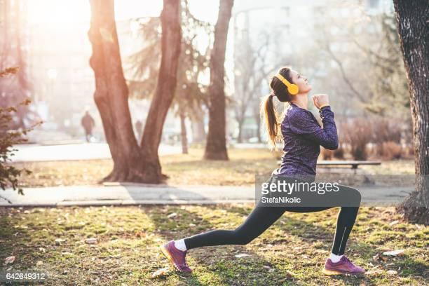 Bleiben Sie fit und gesund