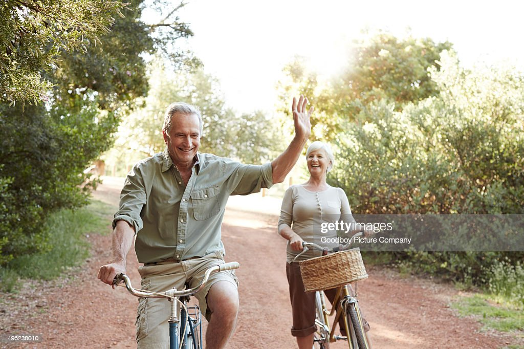 Staying fit the fun way : Stock Photo