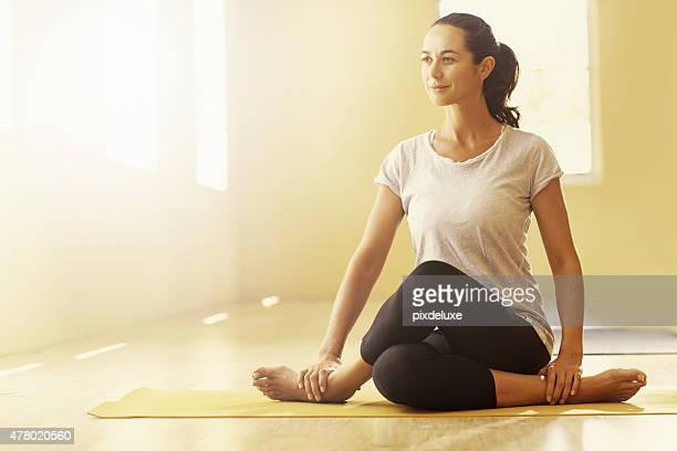 Rester souple et décontractée avec yoga