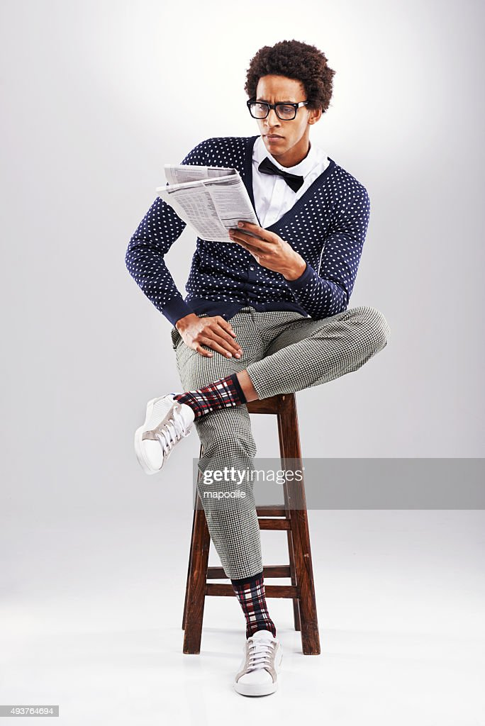Staying informed : Stock Photo