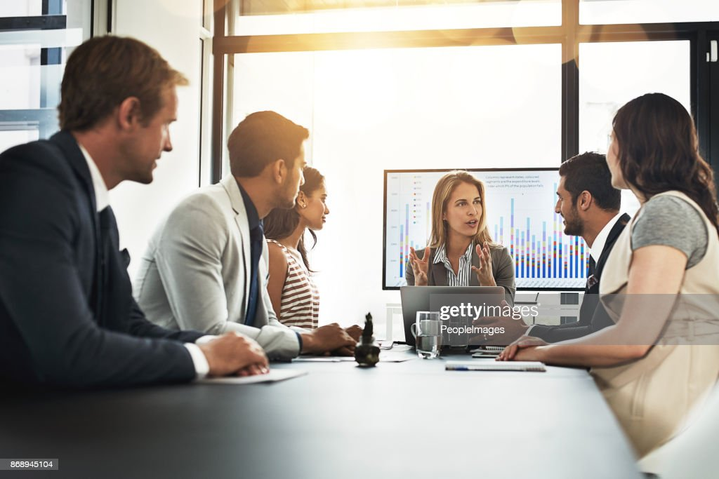 Staying inspired by the vision of the business : Stock Photo