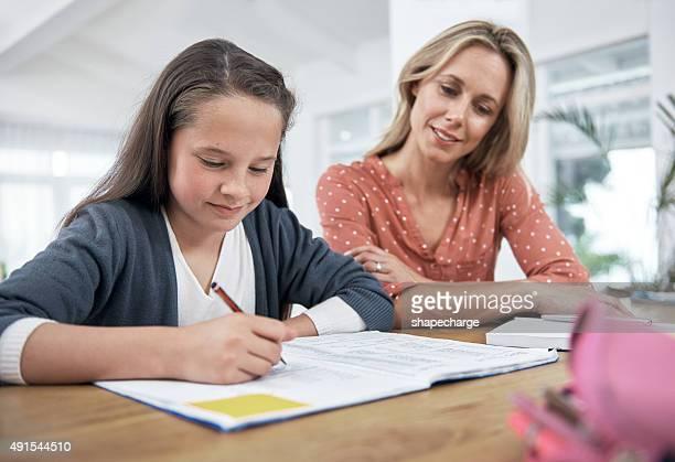 Rester impliqué dans sa fille d'enseignement