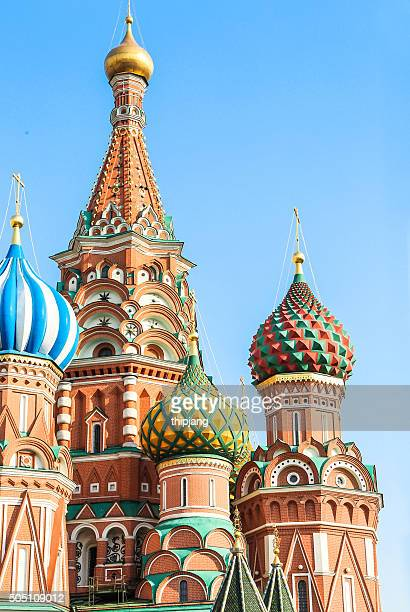 St.Basil Cathedral, close-up