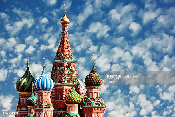 St.Basil Cathedral, Moscow, Russia