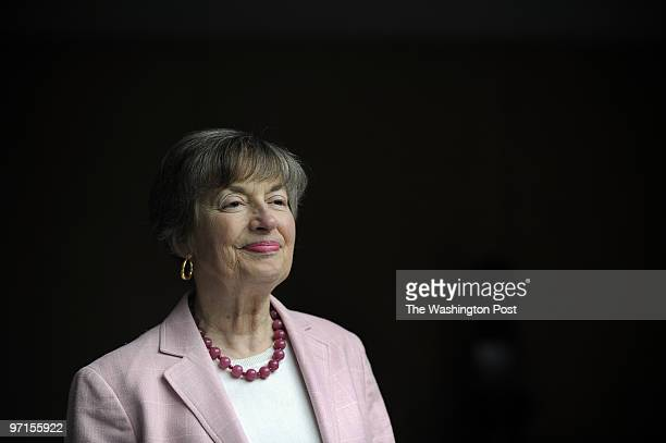 May 5 2009 PHOTOGRAPHER Carol Guzy Washington DC Brooksley Born has her portrait made She is a former American public official who was chairperson of...