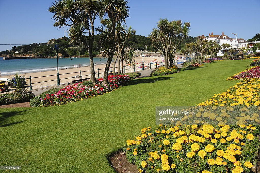 St.Brelade's Bay, Jersey. : Stock Photo