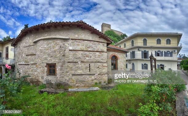 st.dimitrios church varousi trikala greece (hellas) - dimitrios tilis stock pictures, royalty-free photos & images