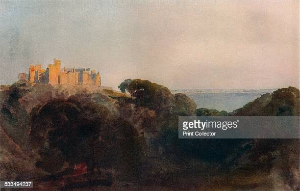 St.Donat's Castle, Glamorganshire. A medieval castle in the Vale of Glamorgan, Wales. The newspaper magnate William Randolph Hearst bought it in...