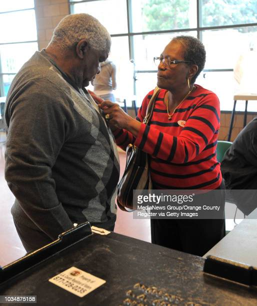 Scott Varley/LANG A steady stream of Carson voters turned out Tuesday to cast their ballots at Stevenson Park City council seats and the mayor's seat...