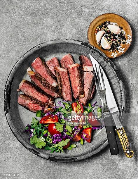 steak - low carb diet stock photos and pictures