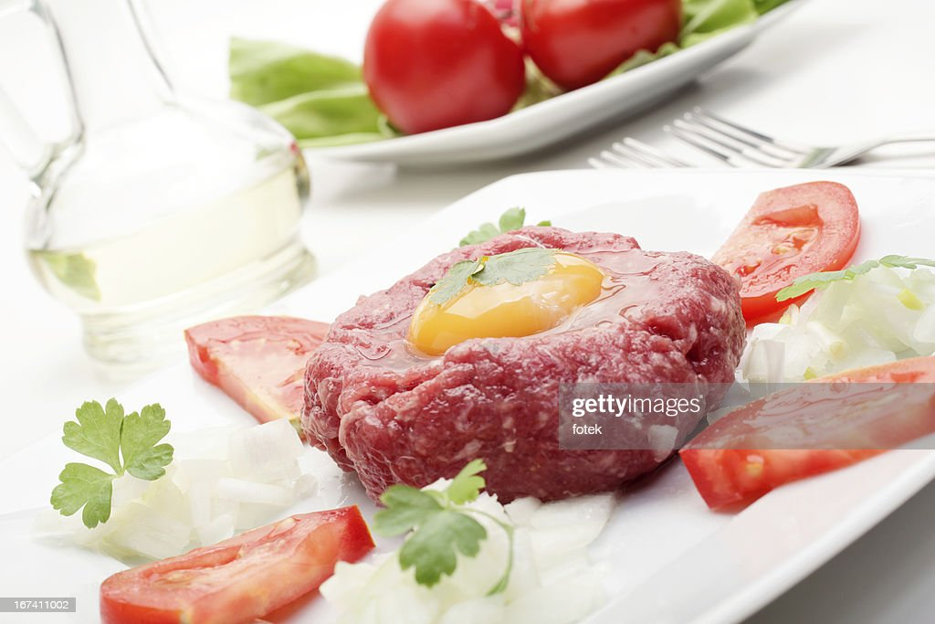 Steak Tartare : Stock-Foto