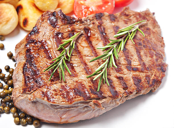 Steak With Potatoes And Tomatoes Wall Art