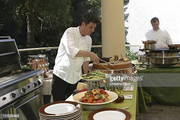 Steakhouse chef David Walzog during The Las Vegas Bon Appetit Culinary & Wine Focus 2007 - Wynn Wine Luncheon Series at Wynn Hotel and Casino in Las...