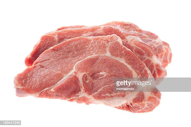 steaks - pork stock pictures, royalty-free photos & images