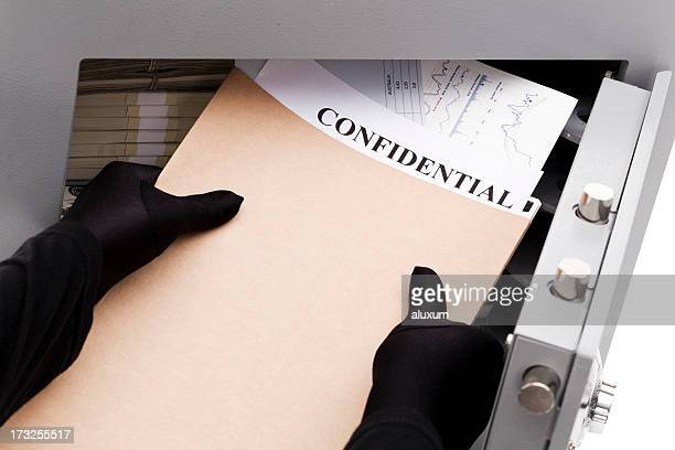 Stealing confidential documents
