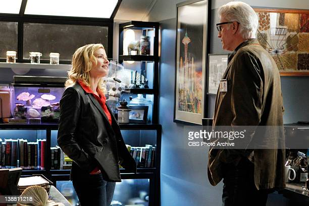 """Stealing Home"""" -- Julie Finlay and D.B. Russell on CSI: CRIME SCENE INVESTIGATION, Wednesday, Feb. 22 on the CBS Television Network."""