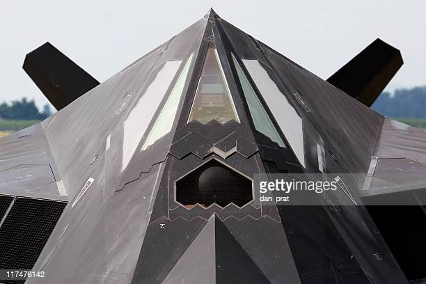 stealth aircraft - stealth bomber stock photos and pictures
