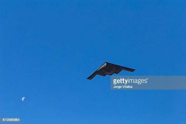 B-2 Stealth Bomber flying over Pasadena CA at Rose Parade