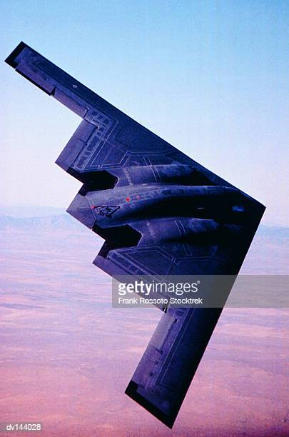 Stealth Bomber in test flight