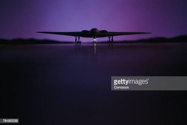 stealth bomber - stealth bomber stock photos and pictures