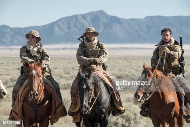 THE BRAVE 'Stealth' Episode 108 Pictured Natacha Karam as Sergeant Jasmine 'Jaz' Khan Mike Vogel as Captain Adam Dalton Hadi Tabbal as Agent Amir...