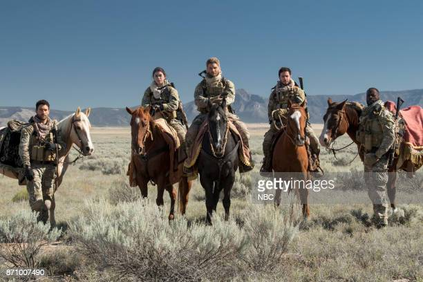 THE BRAVE 'Stealth' Episode 108 Pictured Noah Mills as Sergeant Joseph 'McG' McGuire Natacha Karam as Sergeant Jasmine 'Jaz' Khan Mike Vogel as...