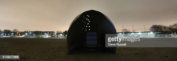 Steam Canoe by OCAD University is on Woodbine Beach in the Winter Stations art project Winter Stations is an annual public art competition that...