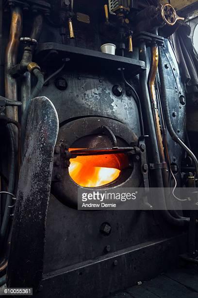 Steam engine furnace