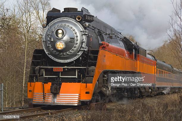 Steam Locomotive 4449 At Oaks Amusement Park