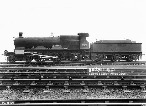 Steam locomotive 'Albion' Swindon Works Wiltshire November 1904 This Great Western Railway 442 steam locomotive No 171 was designed by G J Churchward...