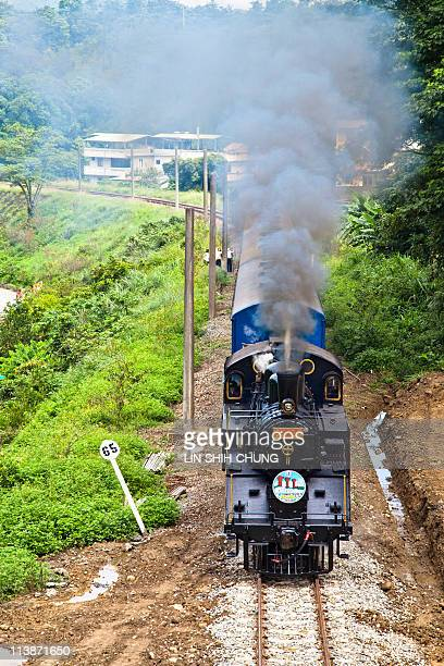 Steam locomotive is a railway station, the second abandoned vehicle disabled, the current dynamics of the steam locomotive preservation.