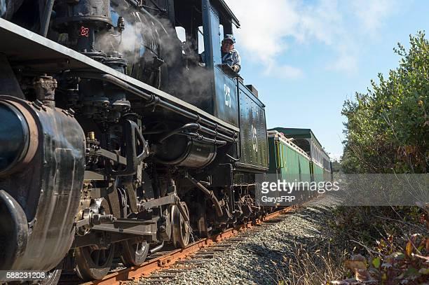 OCSR Steam Locomotive McCloud Railway No. 25 Engineer Garibaldi Oregon