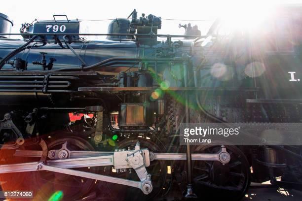 Steam Locomotive Train Engine, Steamtown National Historic Site