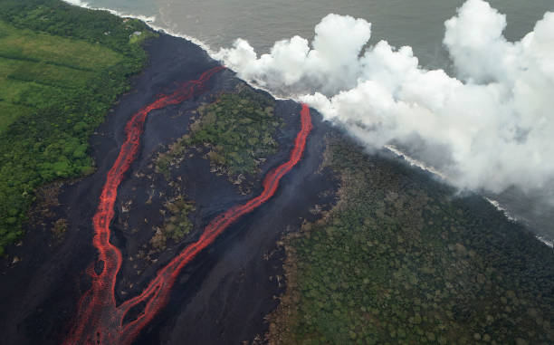 Hawaii's Kilauea Volcano Erupts Forcing Evacuations
