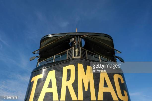 Steam powered lorry is displayed during the final day of the Whitby Traction Engine Rally on August 5, 2018 in Whitby, England. Situated close to the...
