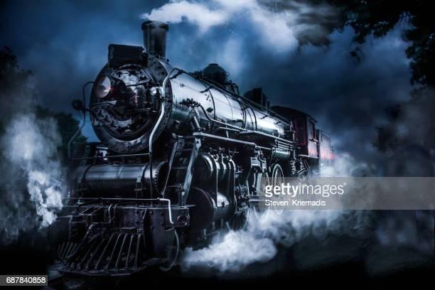 trem movido a vapor - trem - fotografias e filmes do acervo