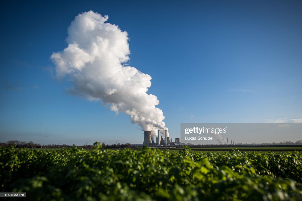 CO2 Emissions From Power Plants Down 12% Across EU : Nieuwsfoto's