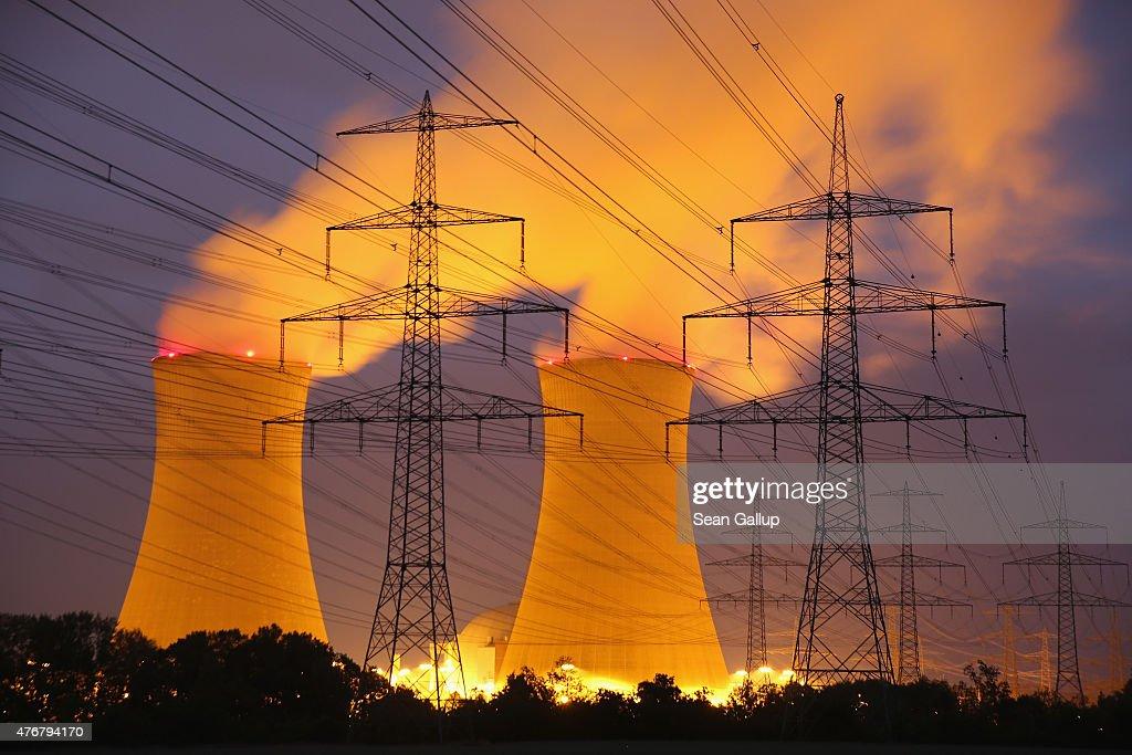 Grafenrheinfeld Nuclear Power Plant To Cease Operation : Nachrichtenfoto