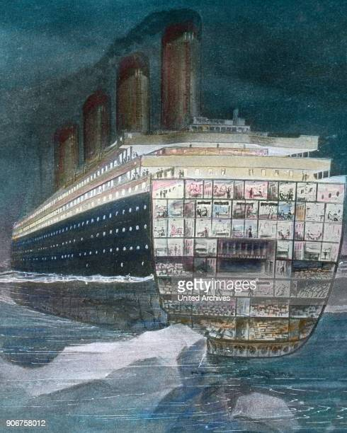 Steam ship on great journey 1920s