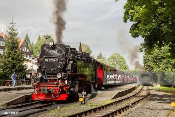 Steam Train at Schierke Station