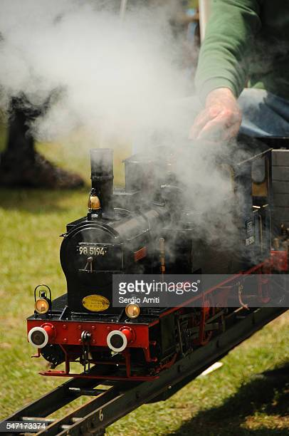 Steam train locomotive
