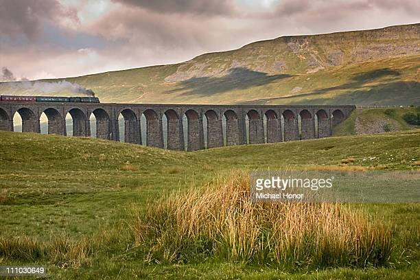 Steam Train on Ribblehead Viaduct