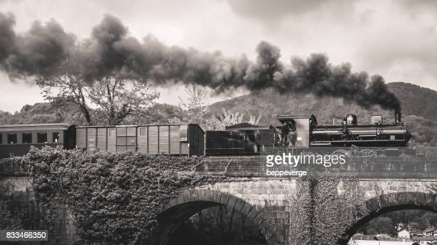 steam train - steam engine stock photos and pictures
