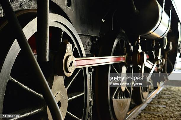 steam train wheels - locomotive stock photos and pictures