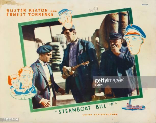 Steamboat Bill poster Jr Poster Art Buster Keaton 1928