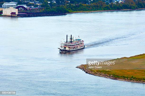 Steamboat, Mississippi River, New Orleans